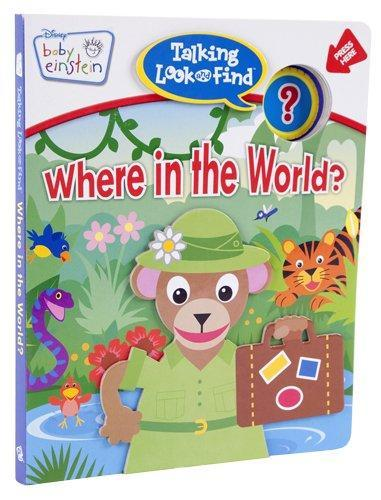 BABY EINSTEIN:TALKING LOOK AND FIND/WHERE IN THE WORLD - BW Wonderland