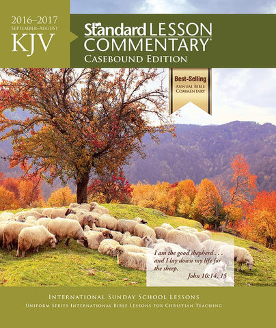 KJV 2016-2017 Standard Lesson Commentary Large Print Edition