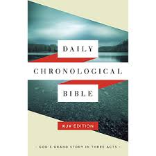 KJV Daily Chronological Bible, hardcover