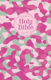 CAMOUFLAGE NKJV CHILDREN BIBLE L/C