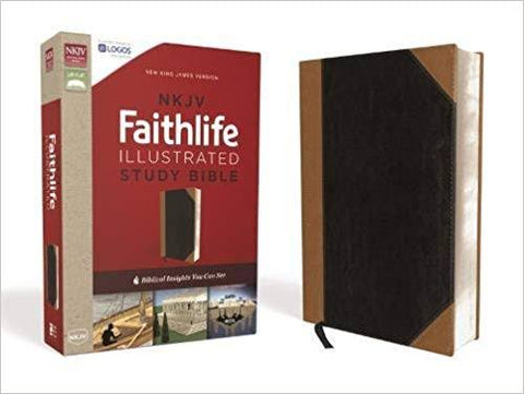 NKJV Faithlife Illustrated Study Bible Leathersoft