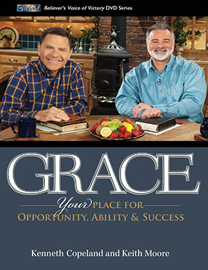 Grace: Your Place for Opportunity, Ability and Success (DVD) - Kenneth Copeland & Keith Moore