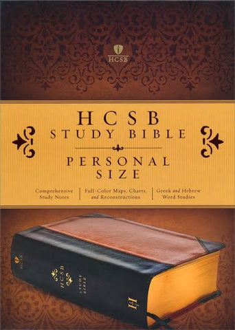 HCSB Personal Size Study Bible Leather Covers
