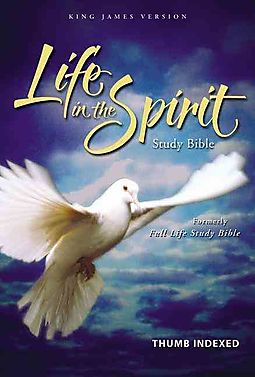 KJV LIFE IN THE SPIRIT STUDY BIBLE BURG BONDED L/C INDEX