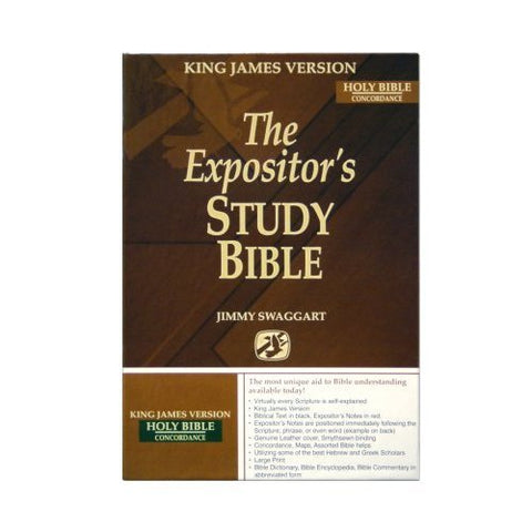 The Expositor's Study Bible, KING JAMES VERSION
