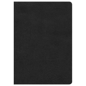 NKJV LARGE PRINT COMPACT REF BIBLE(BLACK LEATHER)
