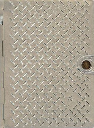 Metal Bible NLT (Metal Diamond Plate)