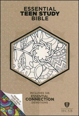 HCSB Essential Teen Study Bible, Personal Size with Make-It-Your-Own cover