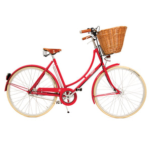 Pashley Britannia in Royal Red - An Open Frame Bicycle
