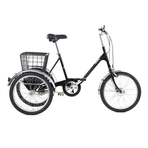 Pashley Picador Tricycle in Buckingham Black