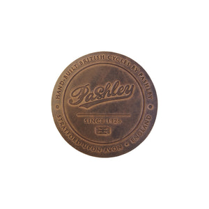 Leather Coaster - Aged Brown