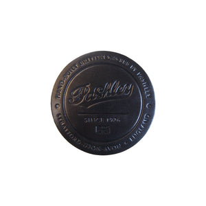 Leather Coaster - Black