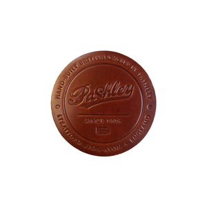 Leather Coaster - Dark Brown
