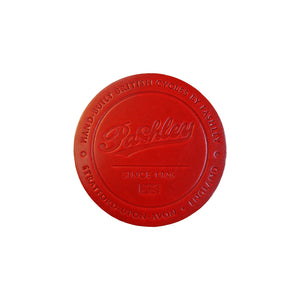 Leather Coaster - Royal Red