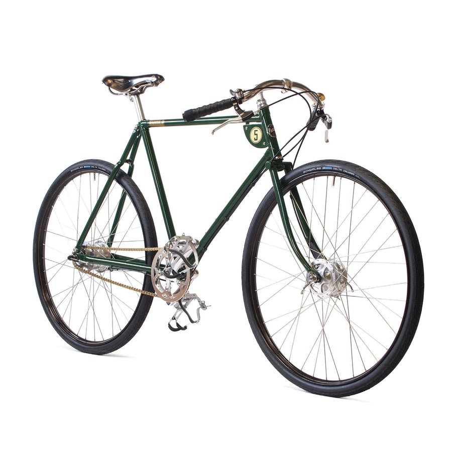 Pashley Speed 5 in Regency Green