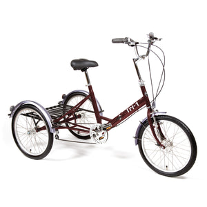 Pashley Tri-1 Burgundy Folding Frame