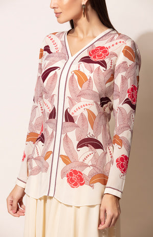 Toosh digital print Shirt with Inner