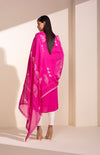 Thread Lifted Flourescent Pink CKD In Sustainable Fabric