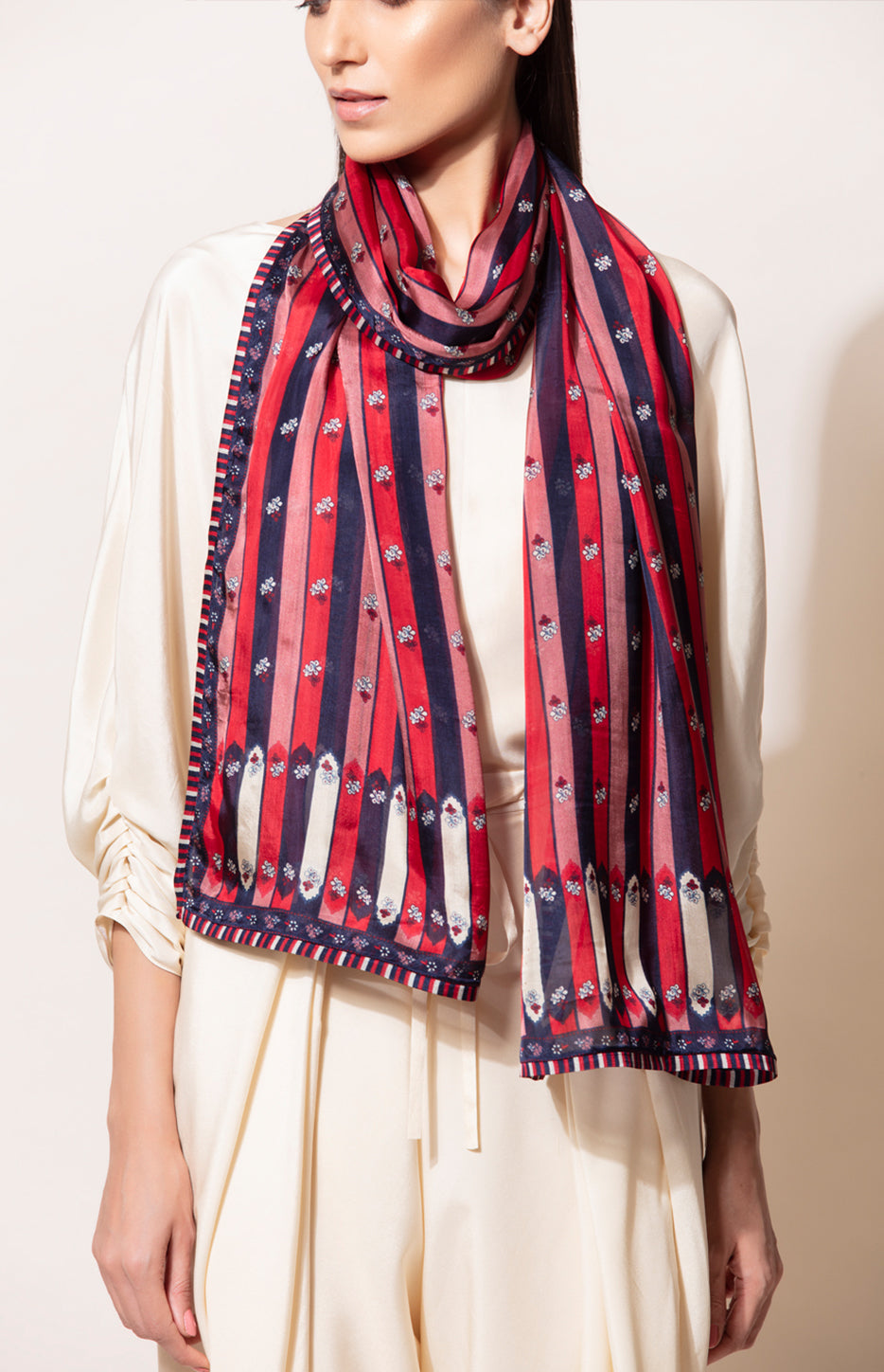 Digital Printed Twin colour Scarf