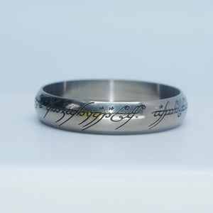 Titanium 22/24.5mm Beauty Ring LOTR Edition #2B001