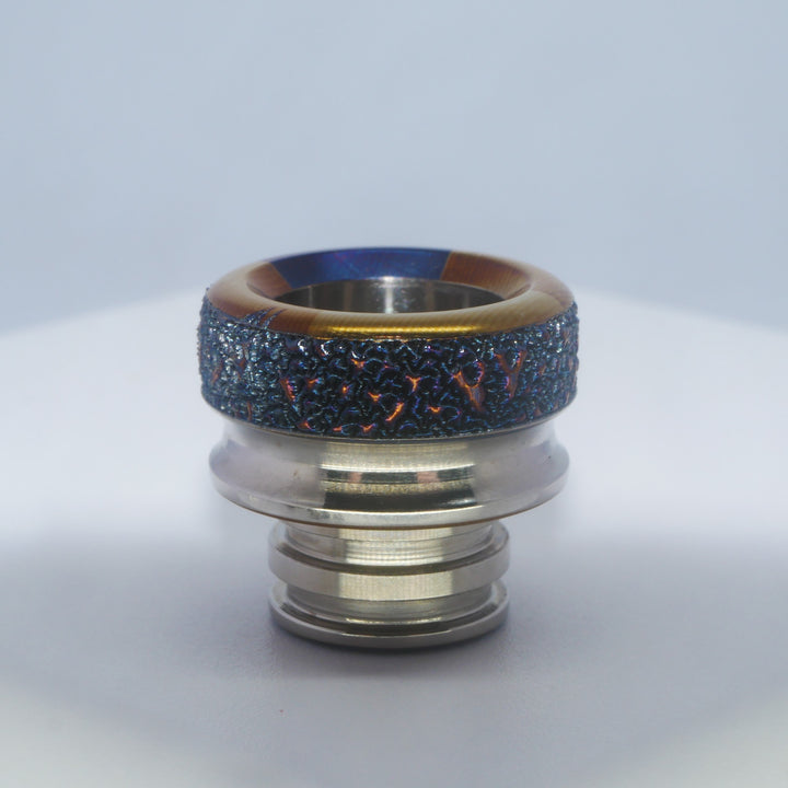 Titanium drip tip GHOST Ed by Laser Custom Vap on Divavap.com