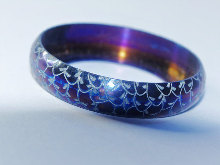 Titanium 22/24mm Beauty Ring ALIEN Edition #4