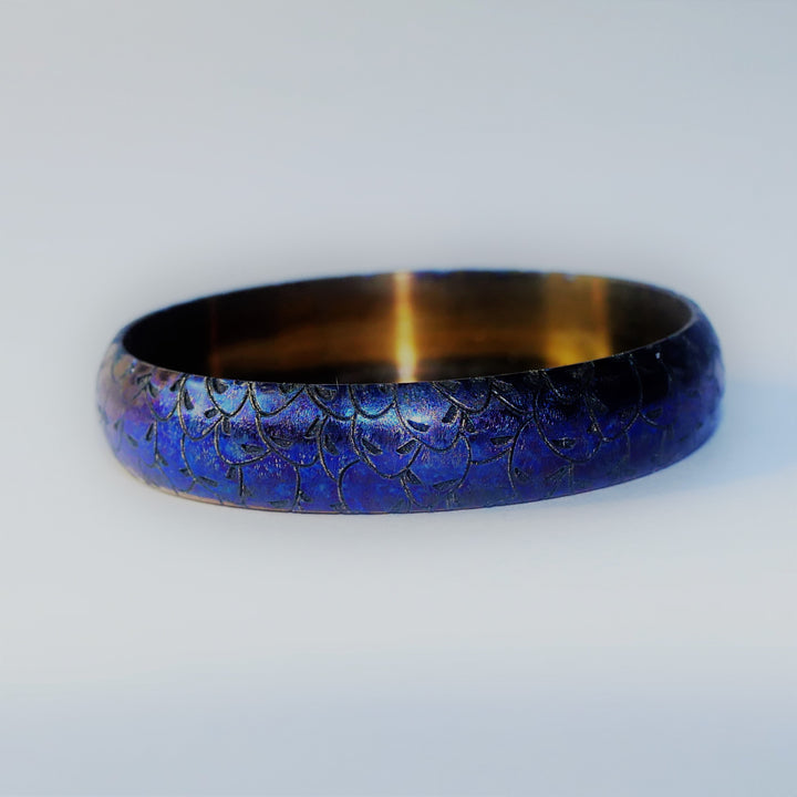 Titanium 22/24mm Beauty Ring ALIEN Edition #7