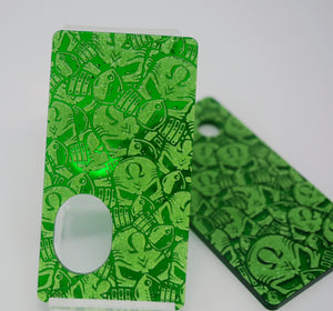 SvF V5 Engraved Panels Kit -  Portes gravées pour SvF V5 (Kit) - Green