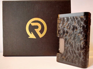 ReseT Mech Full Engraved Damascus - Serial Number #61