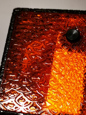 ReseT Mini Full Engraved SNAKE orange Panels - Serial Number #23