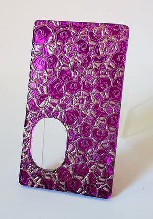 Porte gravée SvF V4 mod - Engraved BF Mod Panel - Little SvF Head Purple