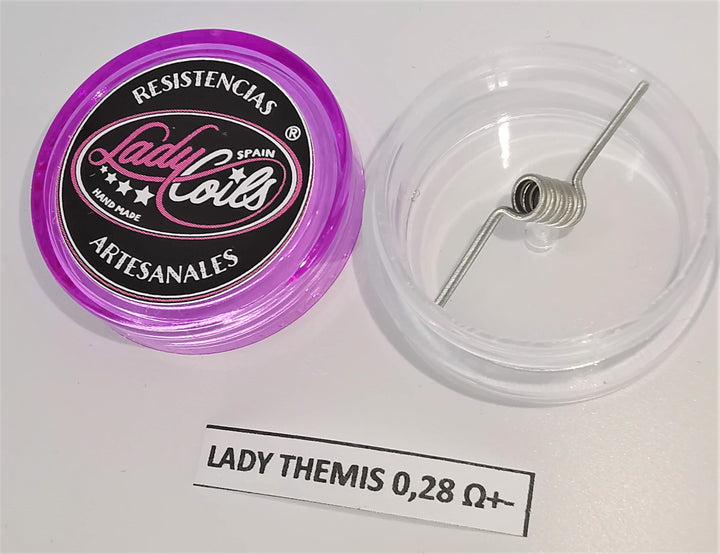 THEMIS  by Lady Coils +-0.28Ohm - NI80