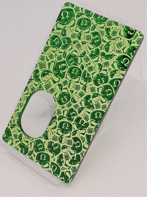 Porte gravée SvF Mods Original - Engraved SvF Panel - Green Little SvF Heads