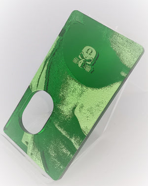 Porte gravée SvF Mods Original - Engraved SvF Panel - Green SvF Eye