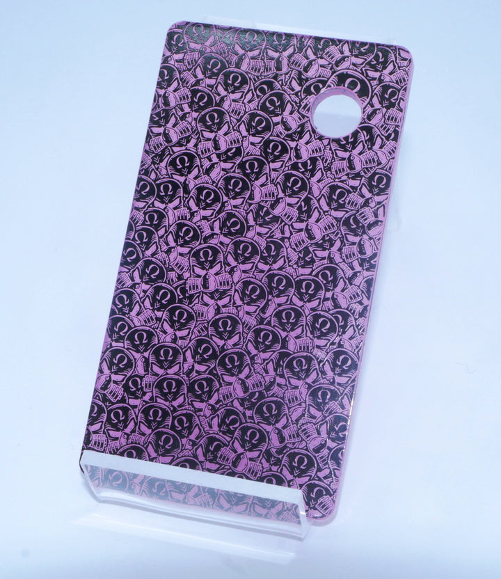 SvF V5 Engraved Back Panel -  Porte gravée pour SvF V5 (arrière) - Little Purple  Heads