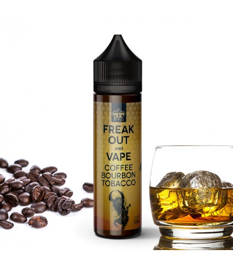 Freak Out Coffee Bourbon Tobacco 50ml Eliquid