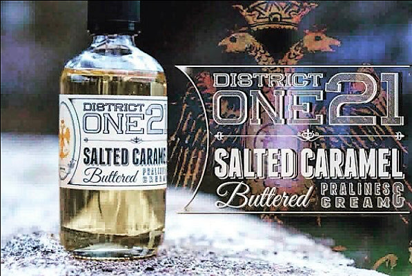 Salted Caramel by District One 21 E-liquide