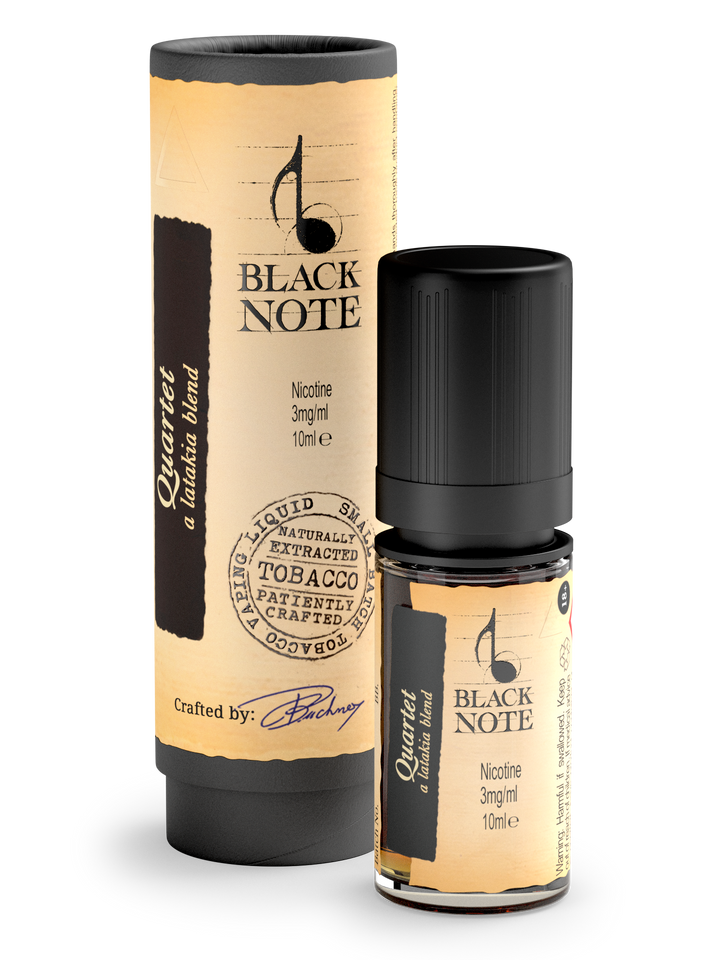 Black note Quartet E-liquide Diva Vap