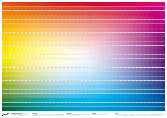 The Really Useful CMYK Colour Chart