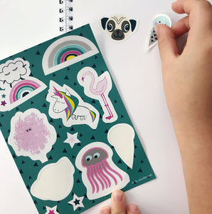 Fun ways your children can use their stickers.