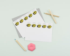 Buzzy Bee notecards