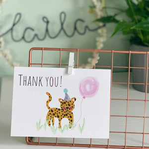 Animal thank you cards