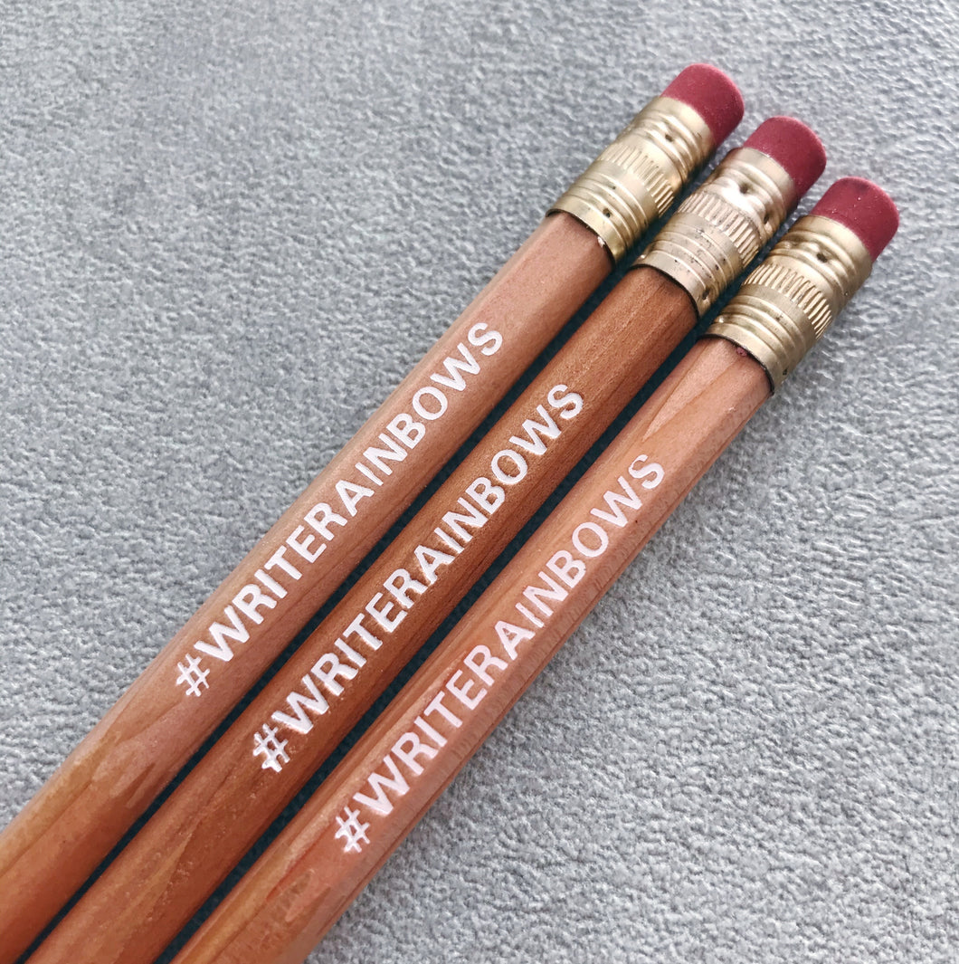 #WRITERAINBOWS Pencil