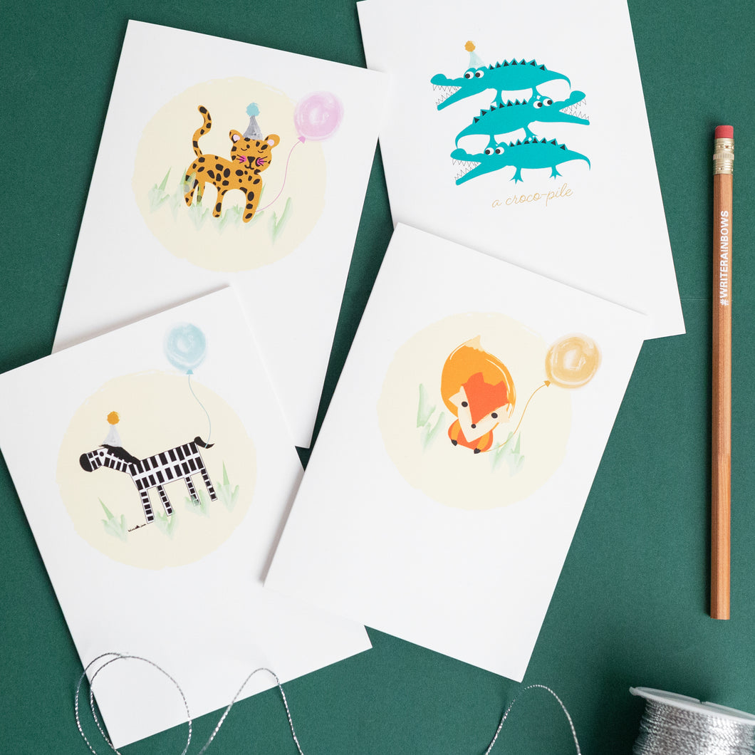 'Write Rainbows' Stationery tin - 2 colours to choose from!