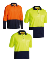 Bisley 3 Day Hi Vis Pack - 2 Short Sleeve and 1 Long Sleeve
