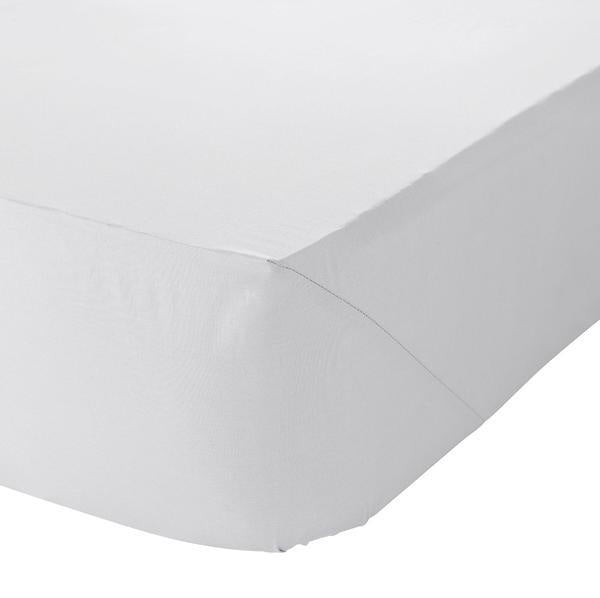 KING FITTED SHEET - WHITE