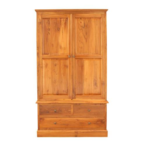 WARDROBE SWING DOOR TEAK