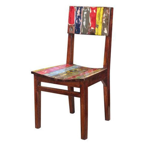 BWD CHAIR CURVED SEAT