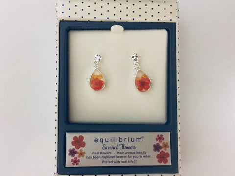 294621 ETERNAL EARRINGS YELLOW/RED