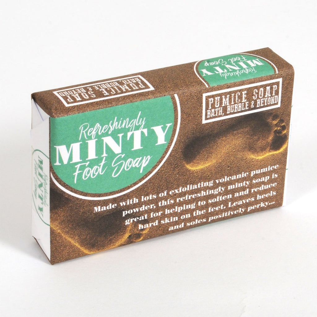 REFRESHING MINT FOOT SOAP